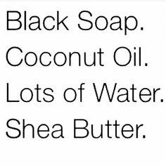 The perfect melanin skin care regimen