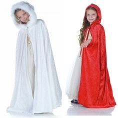 Looking for the perfect cape or cloak for your upcoming Christmas event?  These Panne Velveteen Hooded Capes in white and red are perfect as coats for theater productions Renaissance Fairs school events dressing up Christmas pageants other holidays and more!  Contact us at 585-482-8780 for more information or check out select costumes and accessories on our Amazon page or website www.arlenescostumes.com  #panne #velvet #christmas #holiday #corporate #pageant #fairytails #renaissance…