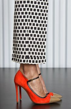 The shoes are awesome, but am I the only that thought 'cheese grater' about the pants?