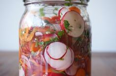 Pickled Radishes and Carrots – Honestly YUM