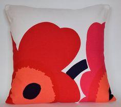 Purple Pillows, Floral Pillows, Homemade Pillow Cases, Pillow Inserts, Pillow Covers, Marimekko Fabric, Haida Art, African Textiles, Japanese Patterns