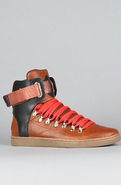 Creative Recreation  The Baretto Sneaker in Brown & Black