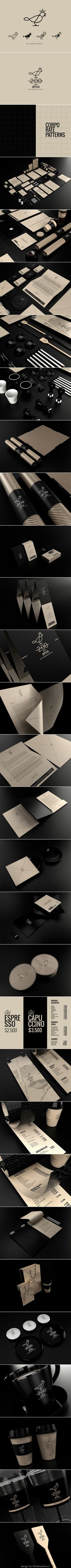 200 Years Coffee - Logo and Identity by David Espinosa IDS PD