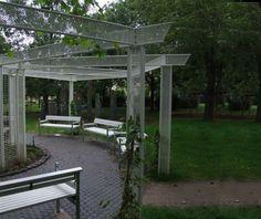 guyon mobilier urbain pergolas en métal Pergola Metal, Arch, Outdoor Structures, Design, Gardens, Street Furniture, Longbow, Wedding Arches
