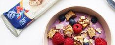 Roodfruit yoghurt met een crisp