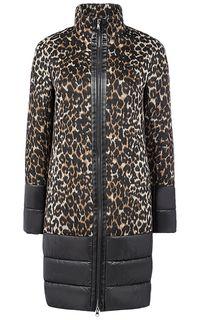 Картинки по запросу комбинированное пальто с кожаными рукавами
