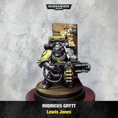 Space Marines   Deathwatch Rodricus Grytt