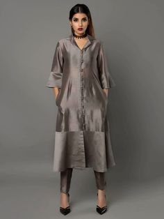 """This product is not eligible for returns. Only size can be exchanged. Size Chart (in inches) : These are the garment measurements. For Kurta : Length : 46"""" XS"""