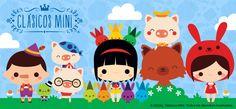 Clásicos Mini | Pictocuentos con Stickers on Behance