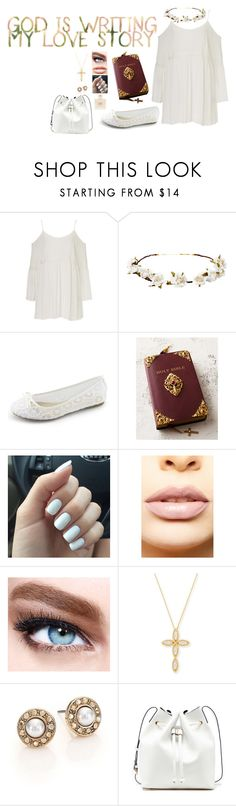 """""""This is my story , this is my song"""" by style-and-chic-boutique ❤ liked on Polyvore featuring Cult Gaia, Kimberly Wolcott, LASplash, Maybelline, Balmain, Roberto Coin, Oscar de la Renta and Sole Society"""