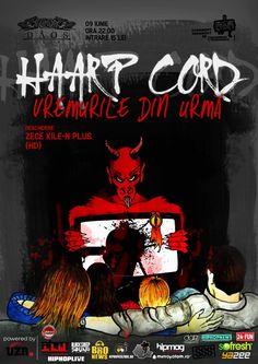 HAARP CORD in premiera in Timisoara | Datz Magazine Cord, Hip Hop, Comic Books, Album, Comics, Fun, Movie Posters, Events, Magazine