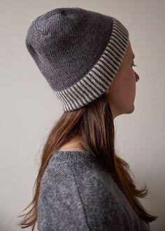 Striped Cuff Hat