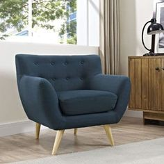 Shop for Remark Mid Century Armchair. Get free shipping at Overstock.com - Your Online Furniture Outlet Store! Get 5% in rewards with Club O! - 16914167