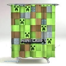 Minecraft Shower Curtain Amazon At