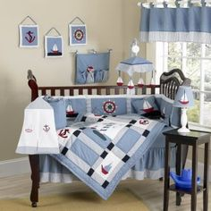 Nautical Themed Crib Bedding Sets