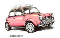 Moris Mini Cooper Car by mrclassic