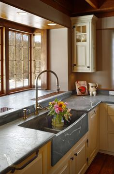 Take a look at this vital illustration in order to have a look at the presented facts and strategies on Soapstone Kitchen Countertops Soapstone Counters, Corian Countertops, Soapstone Kitchen, Kitchen Cabinets, Kitchen Cupboard, Kitchen Storage, Kitchen Redo, New Kitchen, Kitchen Ideas