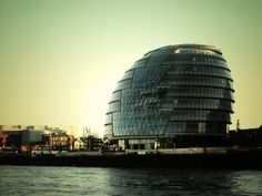 The London City Hall has been described as the ultimate computer generated building - not implied as a compliment.  Despite its flashy design by Norman Foster architects, the environmentally conscious efforts and innovations are worth looking at.
