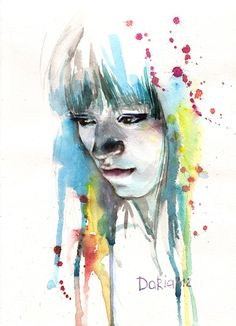 Irina - 50 Mind Blowing Watercolor Paintings | Art and Design