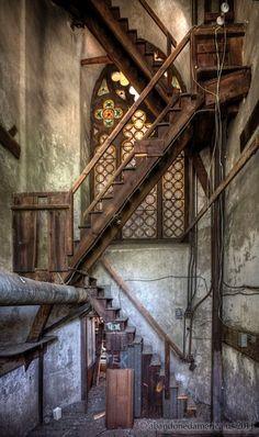 Abandoned St. Boniface Cathedral. Philadelphia, PA