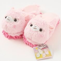 ✨ Alpacasso~ Cleaning Slippers Pink ✨