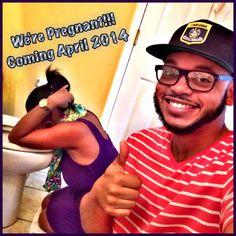 Pregnancy announcement @Pretty Mrs  #SixPack #WhereMyGirlsAt #CrisisManagement