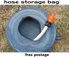 camper storage for your RV hose..COOL  I just ordered mine. The free postage is only in Australia. Total for mine- shipped to Texas is $20.30(US).