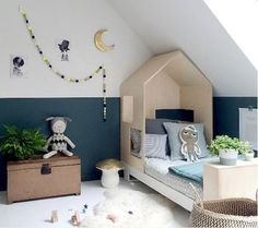 Your child's play room is one of the most fun rooms in the house to decorate. You can go crazy in this room and it's ok! Using bold colors, organizational tools, and area rugs, can help you keep this room fun and low maintenance. Boys Room Decor, Boy Room, Kids Bedroom, Kids Rooms, Boy Decor, Rooms Ideas, Playroom Ideas, Baby Room Design, Kid Spaces