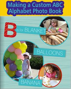 Creating a Personalized ABC Alphabet Photo Book for Kids | Digital Photos 101