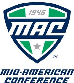 The Miami University Women's track and field team is a part of the Mid-American Conference for college sports. This is the logo for the Mid-American Conference. Ohio Football, College Football, American Conference, Football Officials, Conference Logo, Football Predictions, Volleyball Team, Women's Basketball