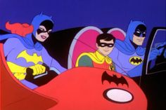 The New Adventures of Batman (1977-1980) CBS Saturday mornings and (1980-1981) NBC Saturday mornings - this was my favorite cartoon version of Batman in the 70's even better for me that the SuperFriends version.  :)
