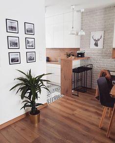 Small Apartment Interior, Small Apartment Kitchen, Small Apartment Design, Flat Interior, Small House Design, Home Interior Design, Kitchen Cupboard Designs, Kitchen Room Design, Dining Room Design