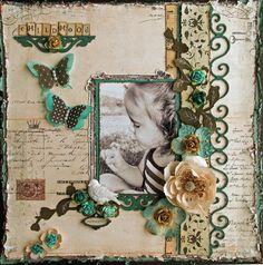 childhood Memories ~~ Swirlyhues Color Challenge~~~~ - Scrapbook.com