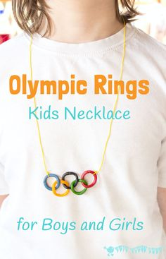 This Olympic craft for kids is a great way to get them interested and involved in the exciting sporting event. Boys and girls will love to make…