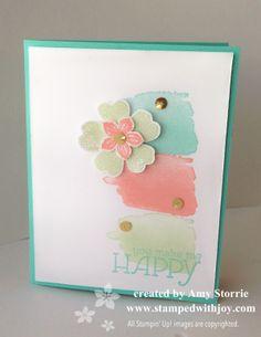 Happy Watercolor Flowers