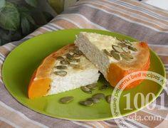 Тыквенное кольцо с творожной начинкой: рецепт с пошаговым фото