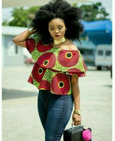 Collection of the most beautiful and stylish ankara peplum tops of 2018 every lady must have. See these latest stylish ankara peplum tops that'll make you stun African American Fashion, African Inspired Fashion, Latest African Fashion Dresses, African Print Fashion, Africa Fashion, Ankara Fashion, African Prints, African Attire, African Wear