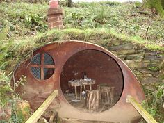A real hobbit home
