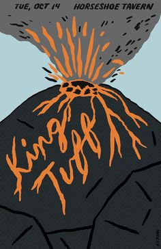 King Tuff show poster by Alex DeSpain