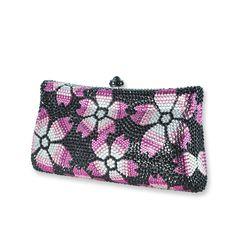 Blossom Crystal Clutch Bag  #crystal  http://www.playbling.com/en/crystal-clutch-bag/blossom-crystal-clutch-bag-6.html