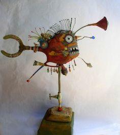 Gerard Collas, Le poisson lanterne via Tumblr
