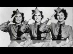 Andrew Sisters - Beer Barrel Polka