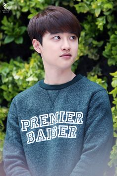 Kyungsoo-premier baiser (i would love to give it to you gnaa <3)