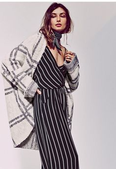 FP Collection Womens WINDOWPANE CHECK JACKET