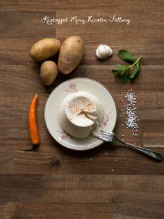 Kartoffel-Minze-Füllung