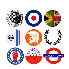 baker - skin heads and mods, Music = life. sham misfits, dead kennedys, the who, the. Skinhead Girl, Skinhead Fashion, Mod Music, Oasis Band, Soul Tattoo, Stone Roses, Joy Division, Northern Soul, Reggae Music