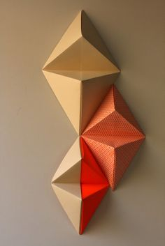 theOPENstudio 79: Tutoriales/Tutorial origami wall decoration