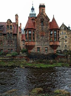 Water of Leith - Dean Village , Edinburgh