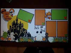 Disney Mickey's Not so Scary Halloween Scrapbook  Pages. $10.00, via Etsy.