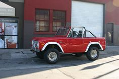 Ford Bronco Convertible - ours is almost done! yay